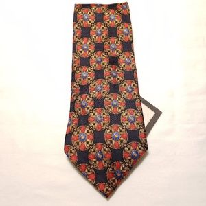 NWOT Christian Dior Cravate 100% Silk Wide Tie